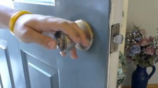 How to: Pick a Kwikset Doorknob Lock