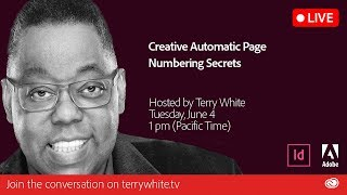 Creative Automatic Page Numbering InDesign Secrets