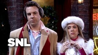 Two A-Holes buying a Christmas Tree - Saturday Night Live