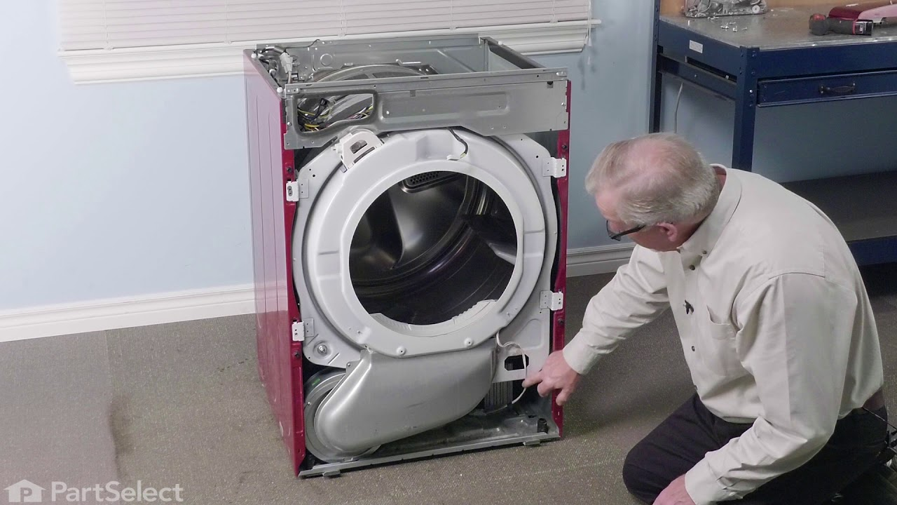 Replacing your LG Dryer Drive Motor