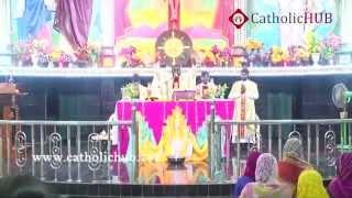 Healing Prayer  (Rev.Fr.Jayaraju)@ Kanukamatha Church, Rentachintala, Guntur, AP, INDIA,01-11-15.HD