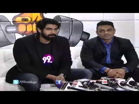 Rana Daggubati with Kunal Gir at Steel Gym Inauguration
