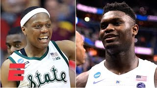Does Duke Or Michigan State Have The Edge In Their Elite Eight Matchup? | ESPN Voices