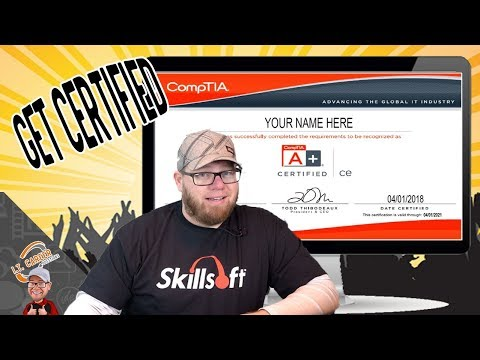 A+ Certification Training Video 2018 - A+ 901 and 902 brought to ...