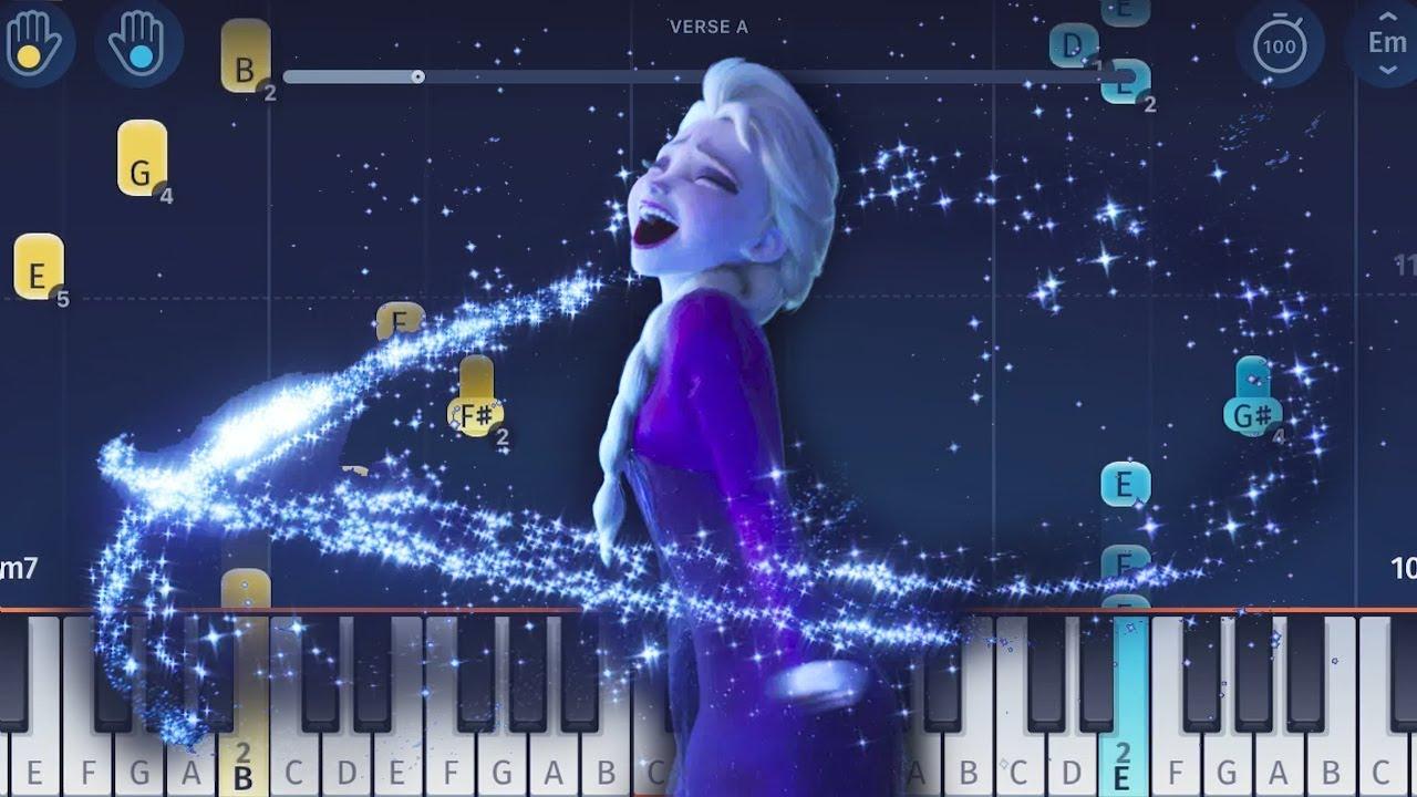 Frozen 2 - Into the Unknown - Piano Tutorial