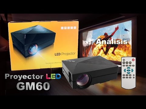 Análisis Proyector LED LCD GM60