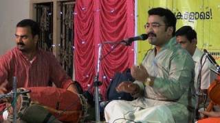 Carnatic vocal recital by Trivandrum K. Krishnakumar