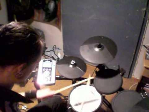 Steve Vai - Blue Powder on drums.