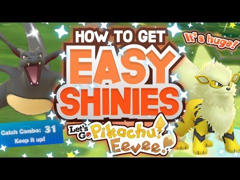 NEW SHINY METHOD in POKÉMON LETS GO PIKACHU and EEVEE! How to get Easy Shiny Pokemon in Lets Go!