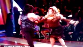 Maks and kirstie moves like Jagger