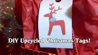 DIY Recycled/Upcycled Christmas Gift Tags!