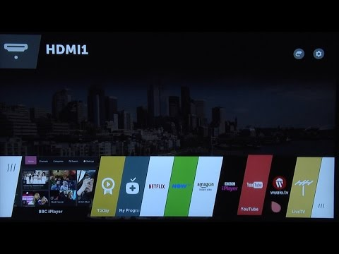 LG WebOS 2.0 2015 Smart TV System Review