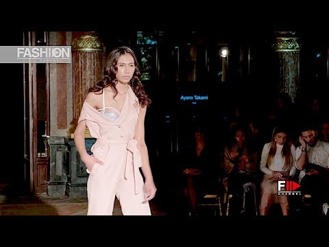 AYANO TAKAMI OFS Fall 2019 Paris - Fashion Channel