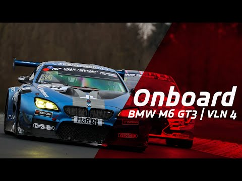 Nordschleife Onboard: BMW M6 GT3 on the way to podium