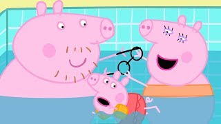 Peppa Pig Official Channel | Swimming with Peppa Pig