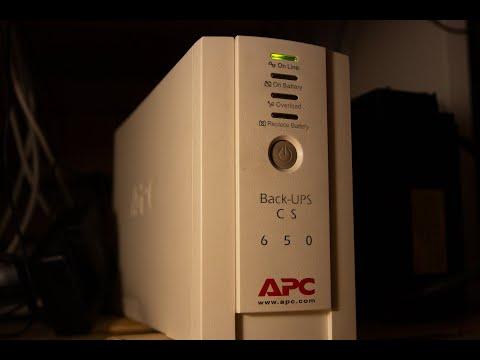 APC Back-UPS CS 650 замена батарейки,разбор и некоторая модернизация,смотрим. 4к60фпс