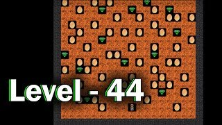 Diamond mine level 44 collected all 30 diamonds