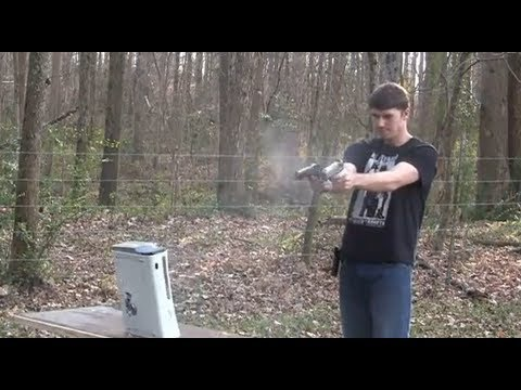 Watch An Xbox 360 Get Shot, Shotgunned And Then Exploded