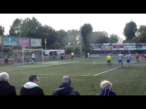 JVC Cuijk - FC Lienden - penalty - 1-1