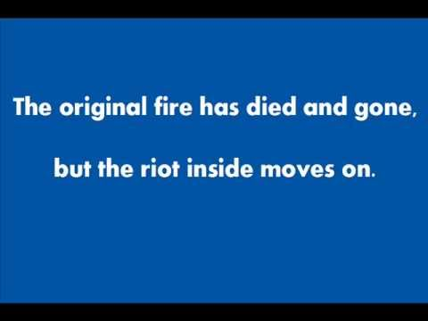 Audioslave - Original Fire - Lyrics