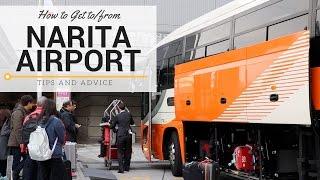 Bus to Narita Airport, Tokyo