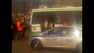 Авария автобусов в Солнцево