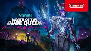 Nintendo Fortnitemares 2021 - Wrath of the Cube Queen Story Trailer - Nintendo Switch anuncio