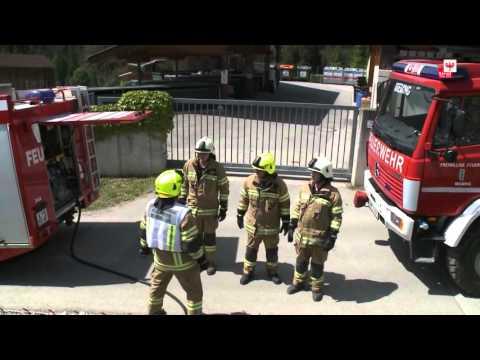 Leitstelle Tirol Alarmierung Feuerwehren
