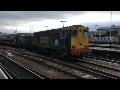 DRS 20312 & 20305, plus 68's work the Yorkshire RHTT at Shef…