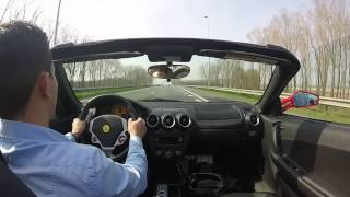 Ferrari F430 Spider & Wheelies!