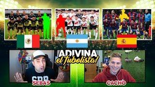 ADIVINA EL FUTBOLISTA OCULTO Con CACHO01