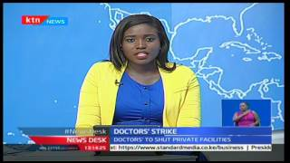 Mombasa Coast doctors' down tools as from 15th Mid Night in solidarity with Nairobi doctors'