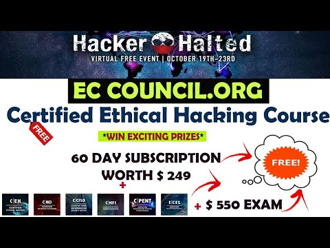 Free CEH Certified Ethical Hacking Course | Free Cybersecurity ...