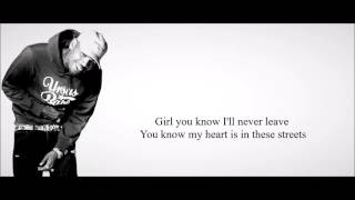 Chris Brown - Gangsta Way (feat. French Montana) Lyrics HD