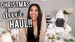 Christmas Decor Haul   Hobby Lobby, BIG LOTS, TJMAXX!! 2018