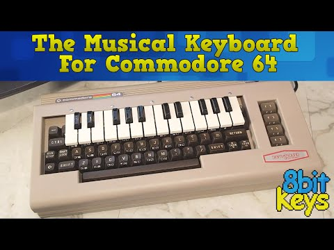 The Incredible Musical Keyboard for the Commodore 64