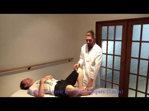 Einige Injektionen für Rückenschmerzen Bein