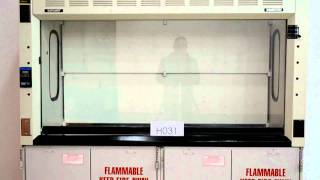 6′ Hamilton Safeaire Fume Hood Laboratory Furniture