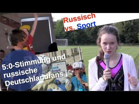 Fußball-WM: 5:0-Stimmung und russische Deutschlandfans [Video]