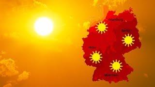 Wetter: Verbreitet über 35 Grad Heiß (25.06.2019)