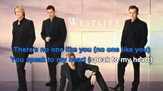 Westlife – If I let you go karaoke with lyrics