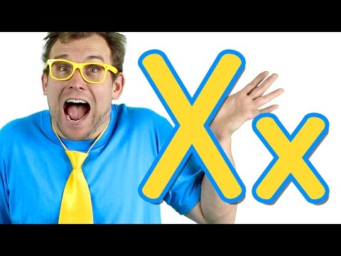 The Letter X Song - Learn the Alphabet