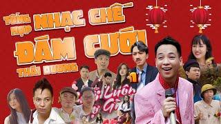NHẠC CHẾ ĐÁM CƯỚI THÁI DƯƠNG | Tổng hợp Parody Nhạc Chế Hay Nhất của Thái Dương