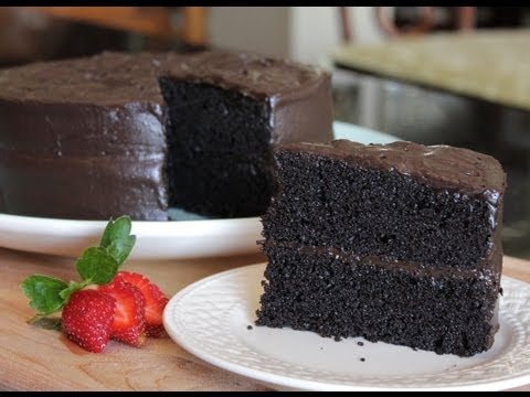 Video Homemade Delicious Especially Dark Chocolate Cake - The Best Cake Recipe from Hersheys