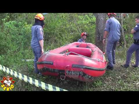 Corpo de uma Mulher é encontrado no Rio São Lourenço identificado com Rosângela de 52 anos