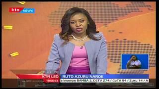 William Ruto azuru Narok kuwahamasisha vijana wajitokeze kupiga kura