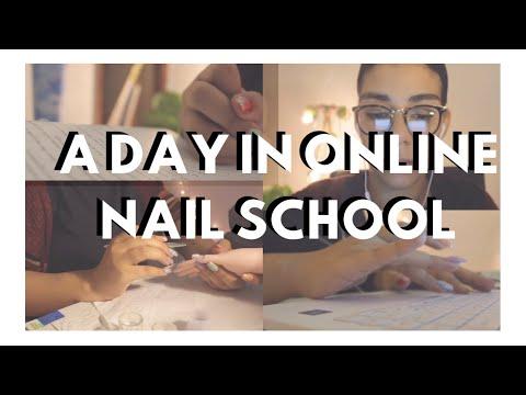A Day In Online Nail School Vlog| SnappedBySydd