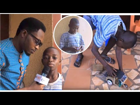 WOW: Meet Ghana's Youngest Fantastically Creative Inventor | Our Leaders must see this