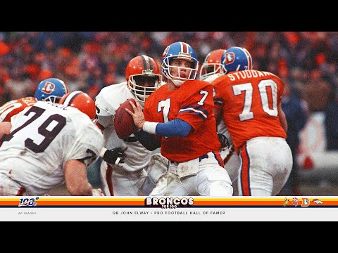 'John Elway is the Broncos' | Broncos 100