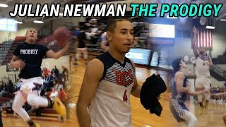 Julian Newman aka THE PRODIGY Is PLAYING With Defenders! Erupts In Second Half & Drops 30 🔥